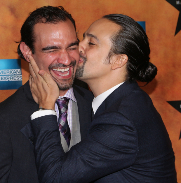 <p>July 11, 2016: The torch will be passed as longtime Alexander Hamilton standby Javier Muñoz takes over the role from Miranda full-time.</p><br />(© David Gordon)
