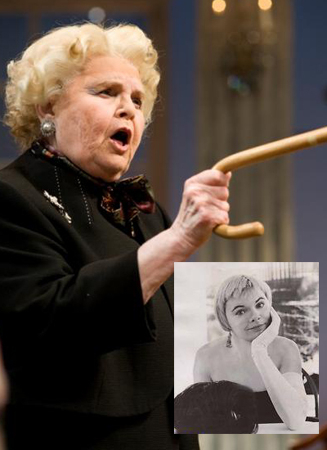 <p>June Squibb of <em>Nebraska</em> appeared as Electra in the original production of <em>Gypsy</em> and later starred in a production of Horton Foote&#39&#x3B;s <em>Dividing the Estate</em> at the Dallas Theater Center.</p><br />(© Brandon Thibodeaux)