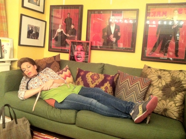 <p>Just hanging in my REAL dressing room. </p><p>You guys, seriously, NOBODY tell Billy Porter I was in his room. </p>