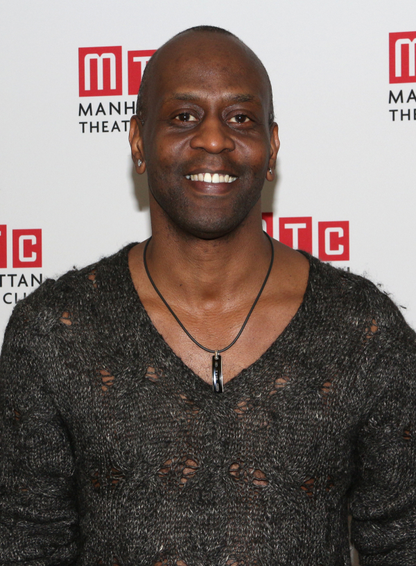 <p>K. Todd Freeman takes on the role of Sissy Na Na.</p><br />(© David Gordon)
