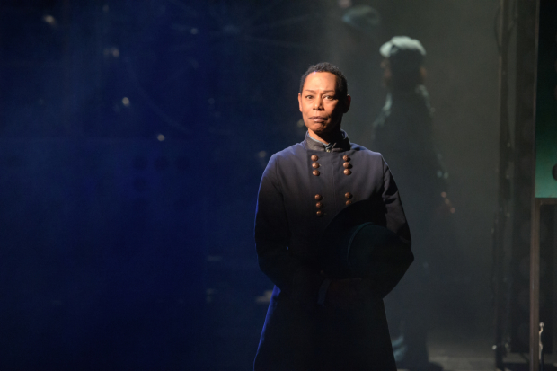 <p>Karen Kandel plays a general in the Union Army during the American Civil War.</p><br />(© Ben Arons)