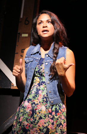 <p>Karen Olivo plays the discontented Susan.</p><br />(© Joan Marcus)