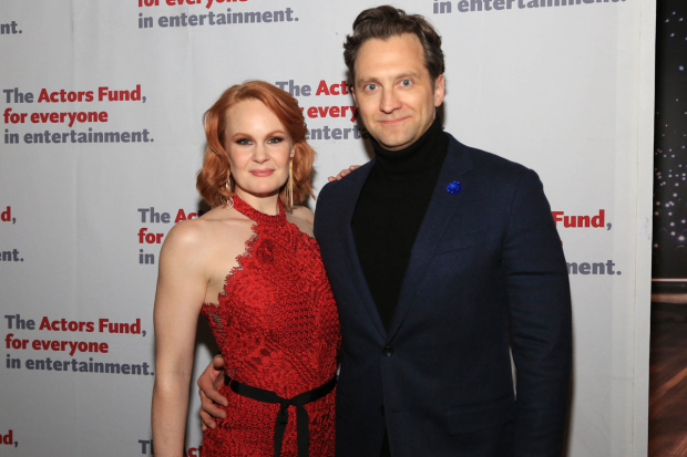 <p>Kate Baldwin and Graham Rowat stopped for a photo.</p><br />(© Tricia Baron)