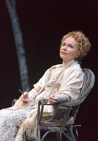 <p>Kate Burton leads the company of <em>The Seagull</em> as Arkadina.</p><br />(© T Charles Erickson)
