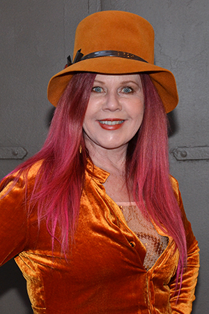 <p>Kate Pierson, one of the founding members of The B-52s, was also among the musicians on hand.</p><br />(© David Gordon)