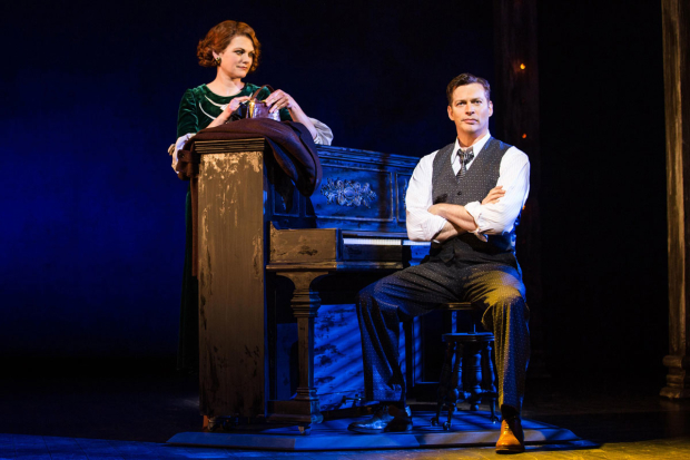 <p>Kate Shindle and Harry Connick Jr. share a scene.</p><br />(© Evan Zimmerman)