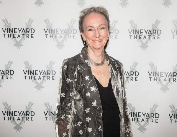 <p>Kathleen Chalfant, last seen on the Vineyard stage in <em>Somewhere Fun</em>, is happy to support the company. </p><br />(© Seth Walters)