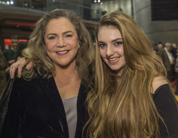 <p>Kathleen Turner and daughter Rachel Ann Weiss at the opening-night celebration for <em>Mother Courage and Her Children</em> at Washington, D.C.&#39&#x3B;s Arena Stage. </p><br />(© Cameron Whitman Photography)