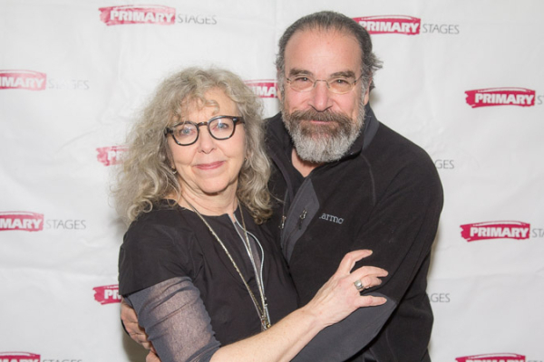 <p>Kathryn Grody poses with her husband, Mandy Patinkin.</p><br />(© Seth Walters)