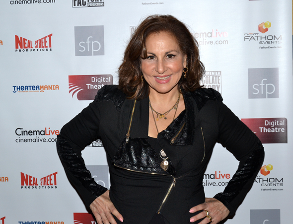 <p>Kathy Najimy is one of Stephen Sondheim&#39&#x3B;s many fans.</p><br />(© David Gordon)