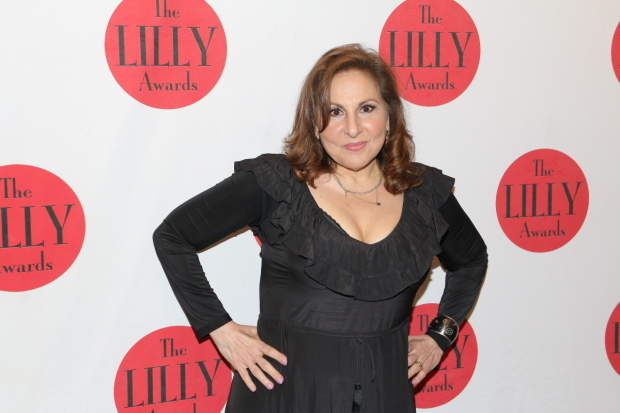 <p>Kathy Najimy receives a 2016 Lilly Award for Activism.</p><br />(© David Gordon)