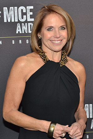 <p>Katie Couric was also thrilled to take part in the festivities.</p><br />(© David Gordon)