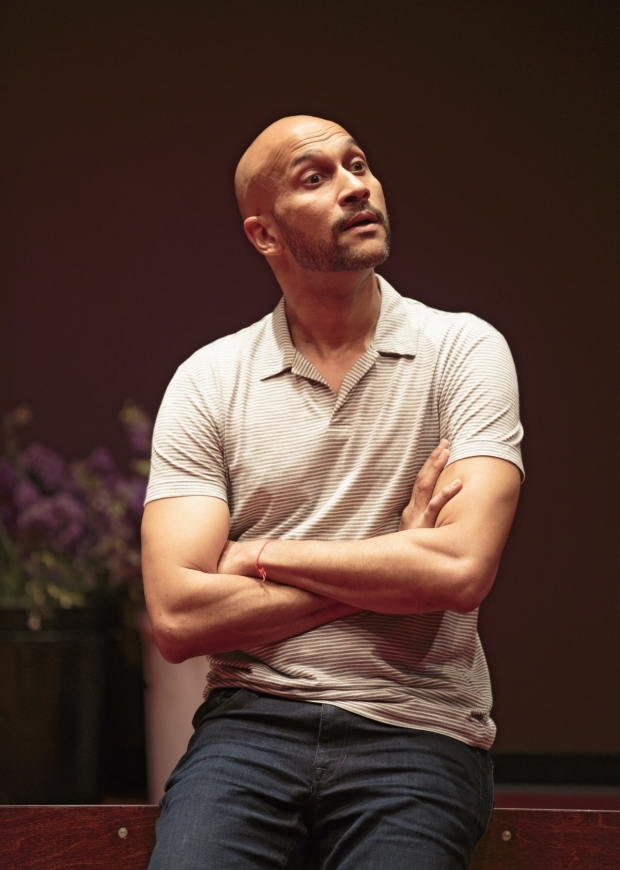 <p>Keegan-Michael Key stars as Horatio.</p><br />(© Carol Rosegg)
