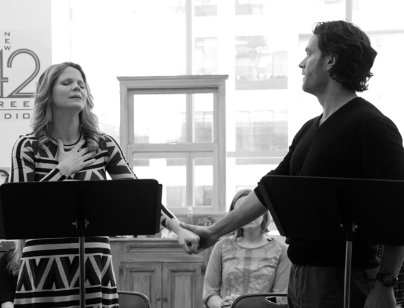 <p>Kelli O&#39&#x3B;Hara and Steven Pasquale share their big duet.</p><br />(© David Gordon)