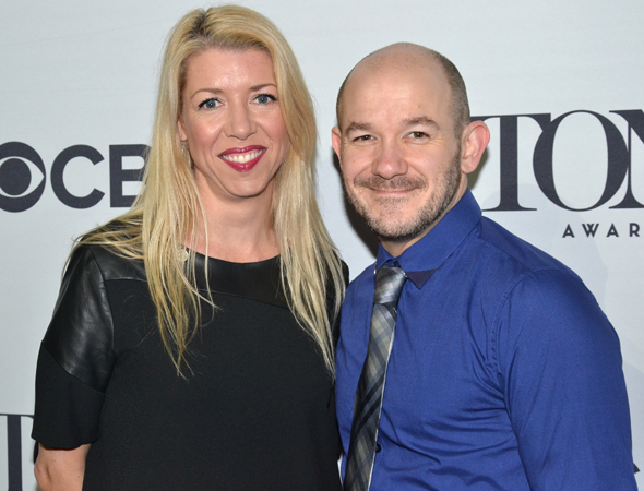 <p>Kelly Devine and Steven Hoggett are the nominated choreographers of <em>Rocky</em>.</p><br />(© David Gordon)
