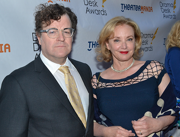 <p>Kenneth Lonergan with his wife, nominee J. Smith Cameron.</p><br />(© David Gordon)