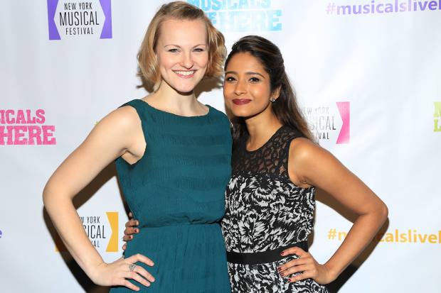 <p>Kerstin Anderson and Shoba Naryan were both among the evening&#39&#x3B;s performers.</p><br />(© Tricia Baron)