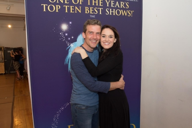 <p>Kevin Kern and Christine Dwyer star in the upcoming tour of <em>Finding Neverland</em>.</p><br />(&copy&#x3B; Seth Walters)