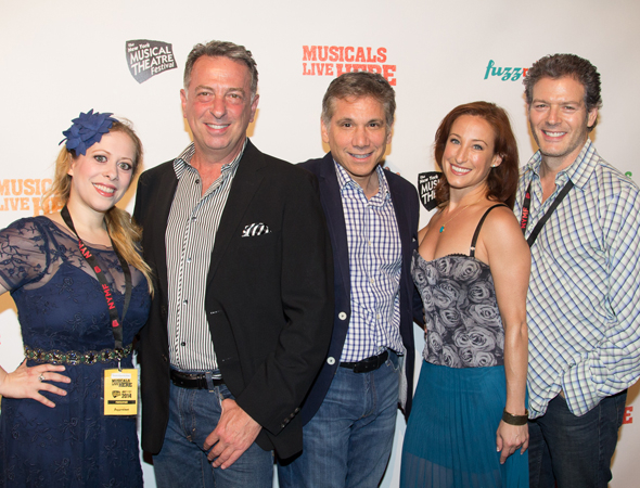 <p>Kevin Spirtas (right) and the team behind <em>Mr. Confidential</em>.</p><br />(© Seth Walters)
