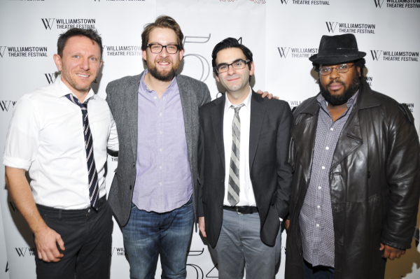 <p>Kris Kukul, Andrew Kober, Joe Iconis, and Jacob Ming-Trent.</p><br />(© Jenny Anderson)