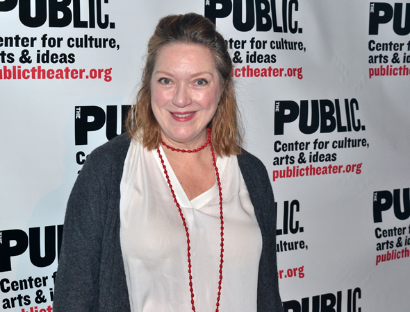 <p>Kristine Nielsen appeared at the Public Theater in Christopher Durang&#39&#x3B;s <em>Why Torture Is Wrong (and the People Who Love Them)</em>.</p><br />(© David Gordon)