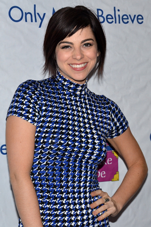 <p>Krysta Rodriguez currently stars in the Broadway production of <em>First Date</em>.</p><br />(© David Gordon)