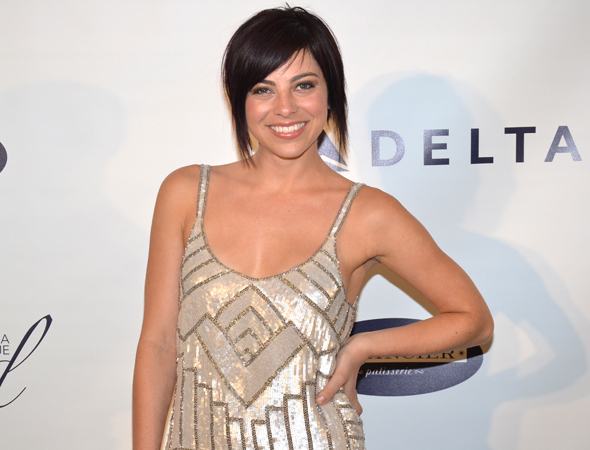 <p>Krysta Rodriguez most recently appeared on Broadway in <em>First Date</em>.</p><br />(© David Gordon)