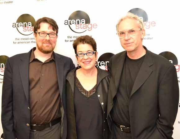 <p>(L to R): Playwright Todd Kreidler, Artistic Director Molly Smith, and director David Esbjornson.</p><br />(Courtesy of Arena Stage)