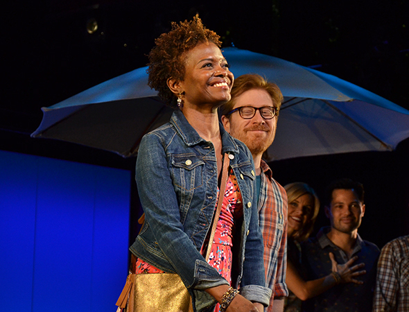 <p>LaChanze and Anthony Rapp have their moment in the spotlight.</p><br />(© David Gordon)