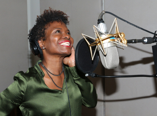 <p>LaChanze lays down a track for a new EP of songs.</p>