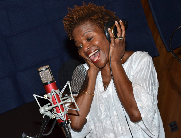 <p>LaChanze makes some beautiful music.</p><br />(© David Gordon)