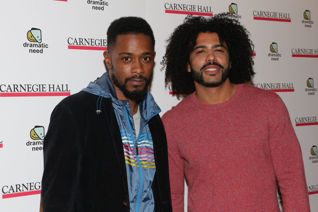 <p>Lakeith Stanfield and Daveed Diggs performed &quot&#x3B;The Boy&quot&#x3B; by Ngozi Anyanwu.</p><br />(© David Gordon)