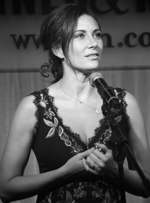 <p>Laura Benanti takes the stage to sing from <em>She Loves Me</em>.</p><br />(© Tricia Baron)