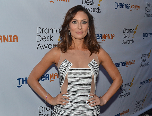 <p>Laura Benanti, the evening&#39&#x3B;s host.</p><br />(© David Gordon)