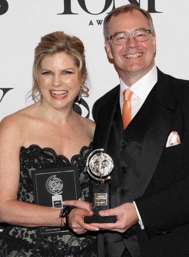 <p>Laura Kepley and Kevin Moore — leaders of the Cleveland Play House, recipient of this year&#39&#x3B;s Regional Theatre Tony Award.</p><br />(© David Gordon)
