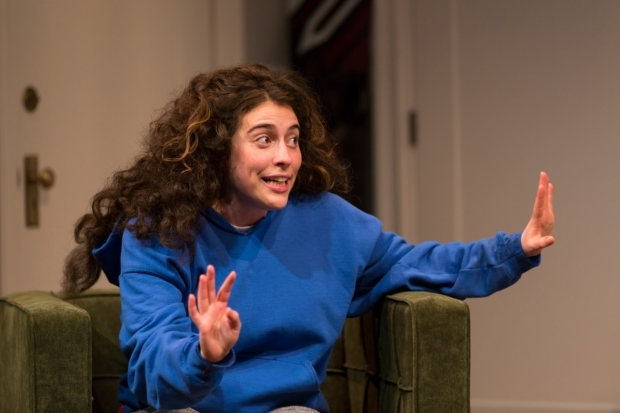 <p>Laura Lapidus previously played Daphna in productions of <em>Bad Jews</em> at Washington, DC's Studio Theatre and Chicago's Theater Wit.</p><br />(© T. Charles Erickson)