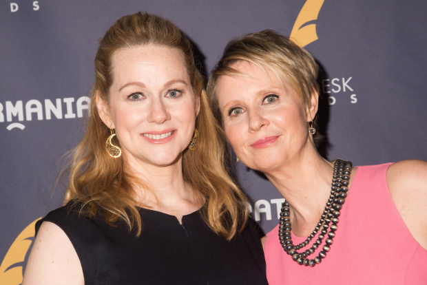 <p>Laura Linney and Cynthia Nixon, nominees for <em>The Little Foxes</em>.</p><br />(© Monica Simoes)