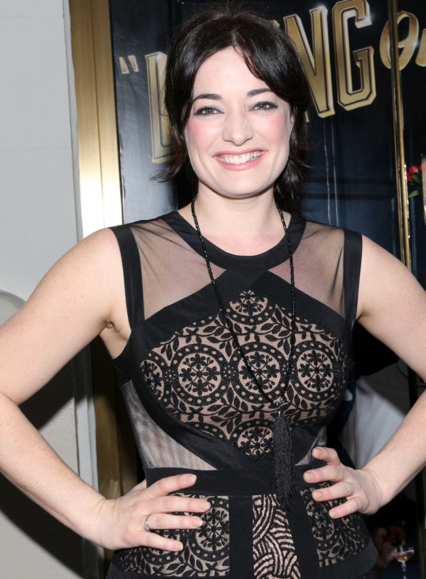 <p>Laura Michelle Kelly takes  a night off from Broadway&#39&#x3B;s <em>Finding Neverland</em> to attend one of the last opening nights of the season.</p><br />(© David Gordon)