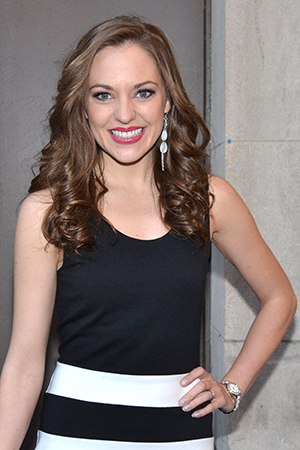 <p>Laura Osnes is preparing to open off-Broadway in <em>The Threepenny Opera</em>.</p><br />(© David Gordon)