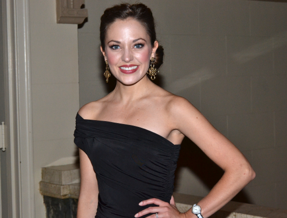 <p>Laura Osnes played romantic lead Margaret.</p><br />(© David Gordon)