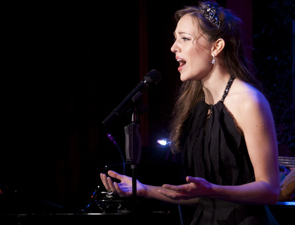 <p>Laura Osnes sings her heart out.</p><br />(© Kevin B. Winebold)
