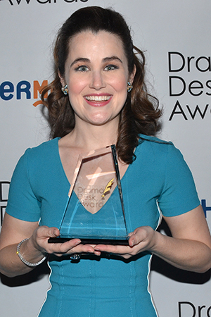 <p>Lauren Worsham — Outstanding Featured Actress in a Musical winner for <em>A Gentleman&#39&#x3B;s Guide to Love and Murder</em>.</p><br />(© David Gordon)