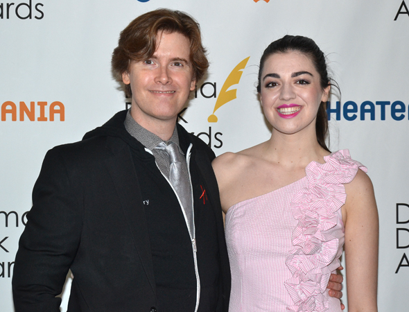 <p>Laurence O&#39&#x3B;Keefe and Barrett Wilbert Weed — nominees for <em>Heathers: The Musical</em>.</p><br />(© David Gordon)