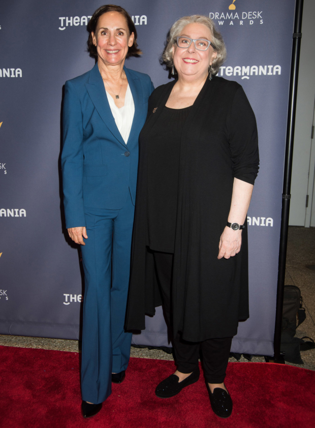 <p>Laurie Metcalf and Jayne Houdyshell, both nominated for <em>A Doll's House, Part 2</em>.</p><br />(© Monica Simoes)