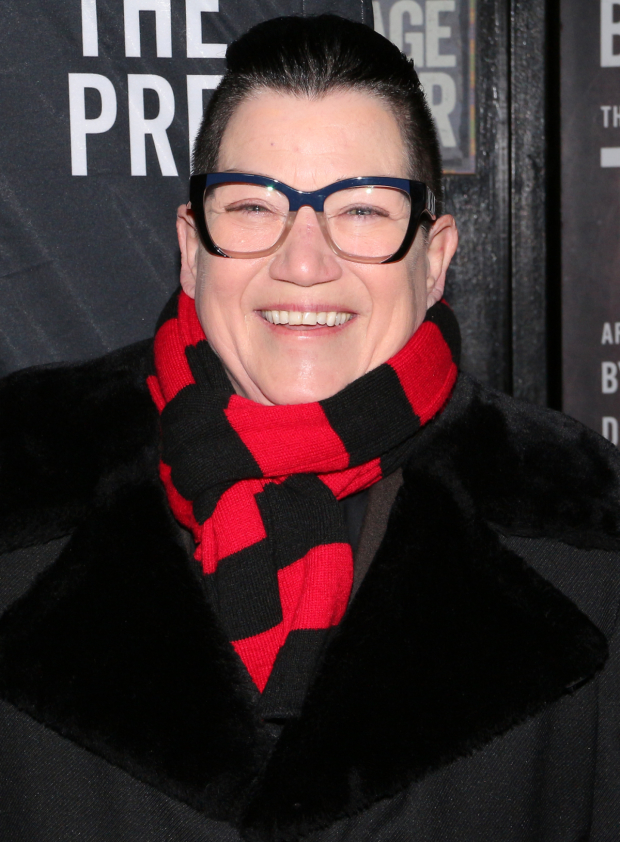 <p>Lea DeLaria wouldn&#39&#x3B;t miss a Broadway opening night.</p><br />(© David Gordon)