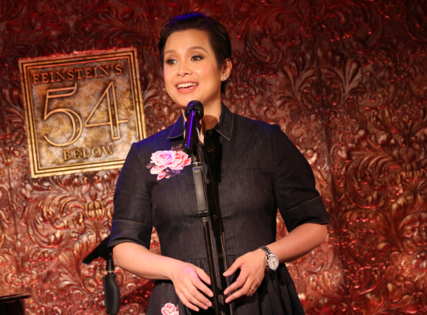 <p>Lea Salonga performs &quot&#x3B;Manhattan.&quot&#x3B;</p><br />(© David Gordon)