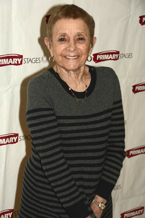 <p>Legendary Broadway choreographer Pat Birch smiles for the cameras.</p><br />(© David Gordon)