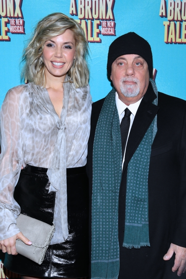 <p>Legendary musician Billy Joel attends with his wife, Alexis Roderick.</p><br />(© Tricia Baron)