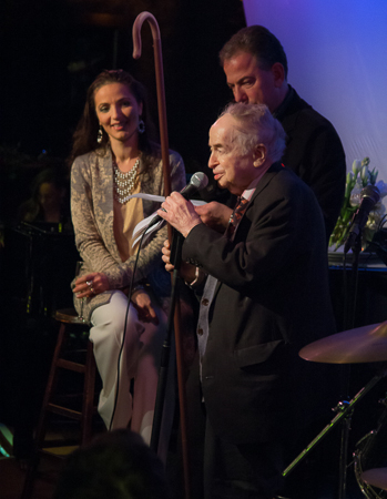 <p>Legendary radio host Joe Franklin acted as the event&#39&#x3B;s grand marshal.</p><br />(© Seth Walters)