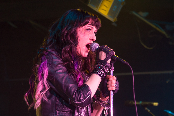 <p>Lena Hall enters the stage with a black eye and a bloody nose. (Don&#39&#x3B;t worry, it&#39&#x3B;s just makeup.)</p><br />(© Seth Walters)